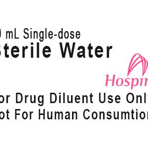 Sterile-Water-Label