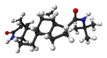 Finasteride 3D Molecule Structure